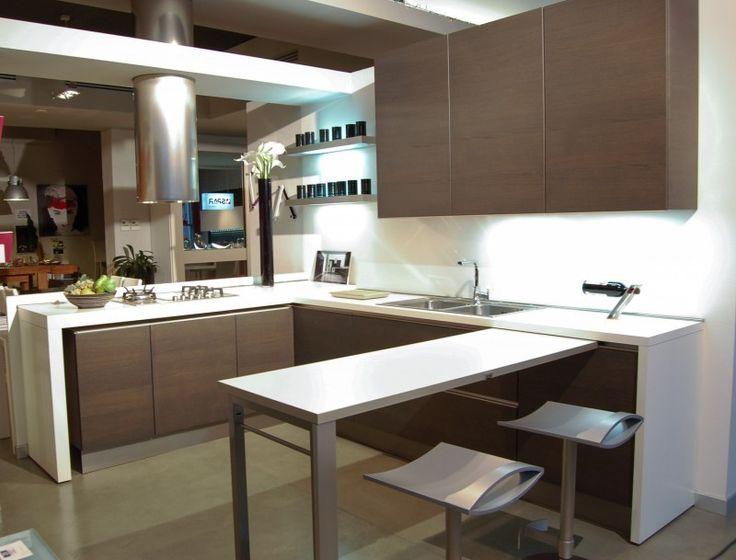 Cucina penisola estraibile (Foto 3/40) | Design Mag