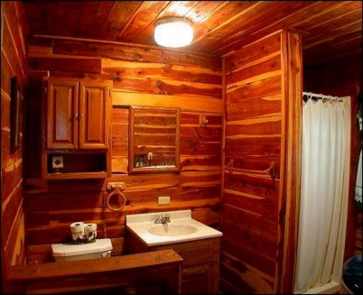 1000 Ideas About Log Cabin Bathrooms On Pinterest Log