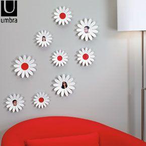Umbra Daisy Wall Decorations   Retro To Go