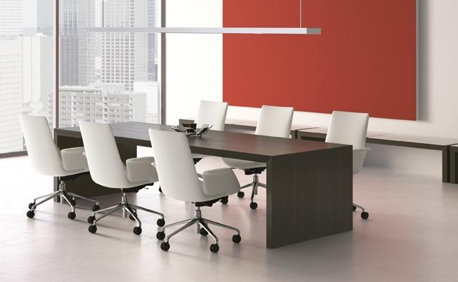 fenix chairs shown with prat table   davis furniture   pinterest