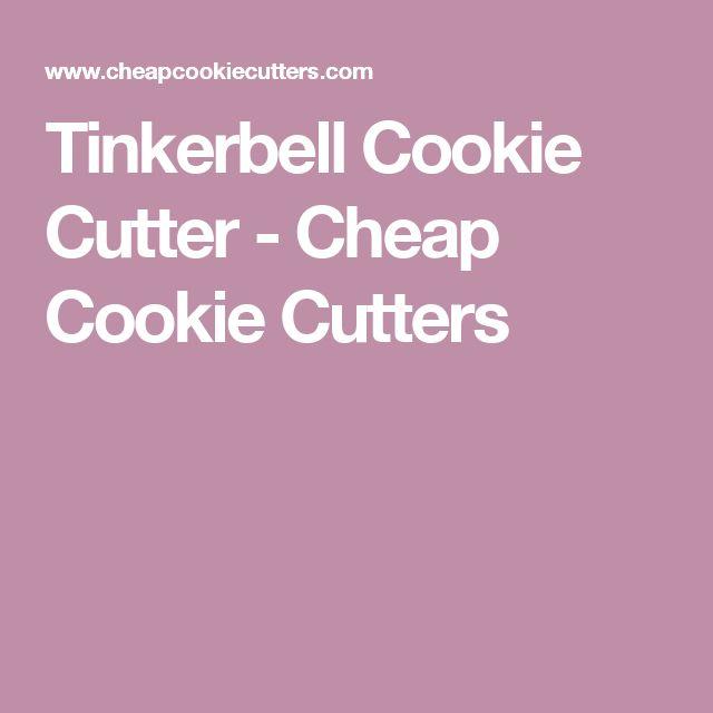 Tinkerbell Cookie Cutter - Cheap Cookie Cutters