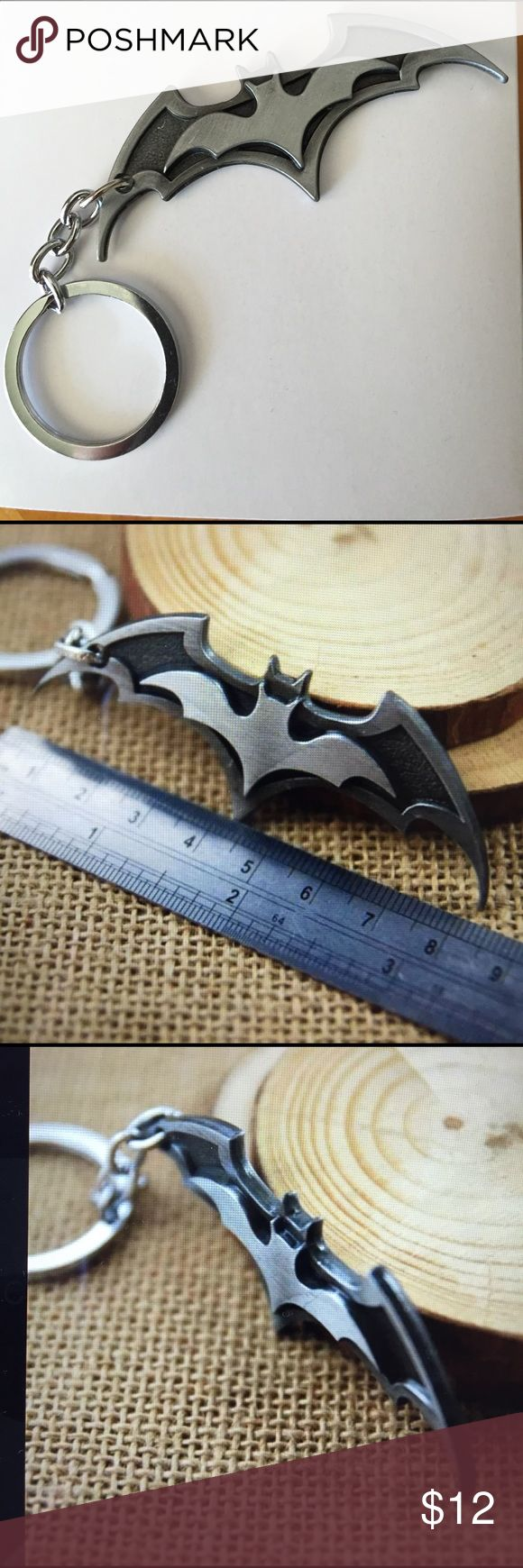 Flaming art tattoo for geek tattoo lovers this kind of batman - Batman Alloy Metal Key Ring New Boutique