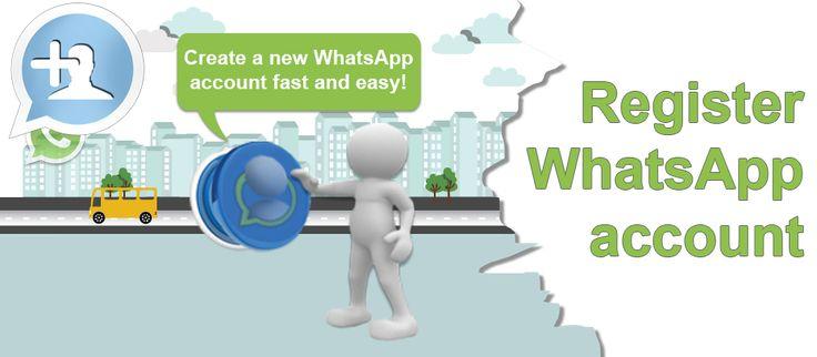 Create your WhatsApp account tool header image