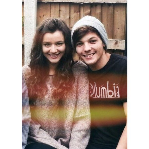 Eleanor Calder and Louis Tomlinson Eleanor Calder ❤ liked on Polyvore featuring one direction, eleanor calder, louis tomlinson, pictures und eleanor