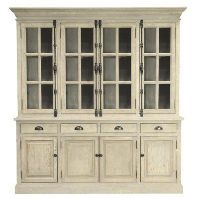 a gorgeous collection of wood and reclaimed wood dining room hutch and buffets each of