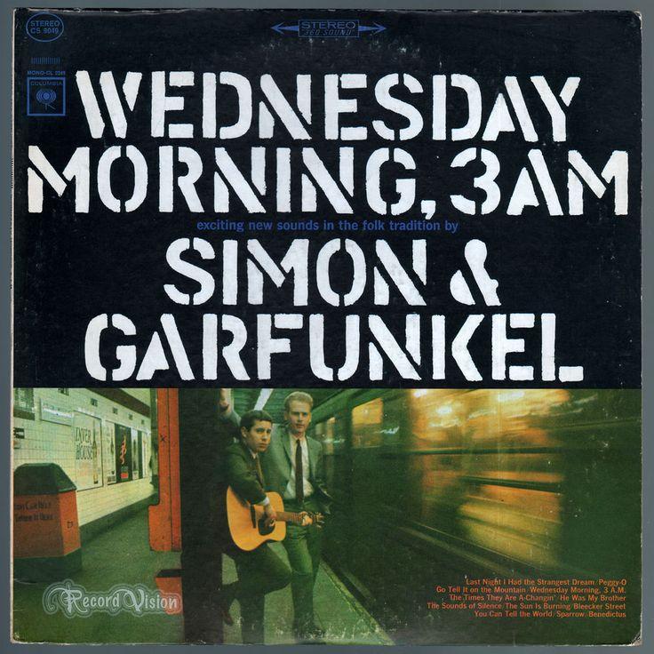 Simon and Garfunkel - Wednesday Morning, 3AM (1964) Vinyl; Paul & Art