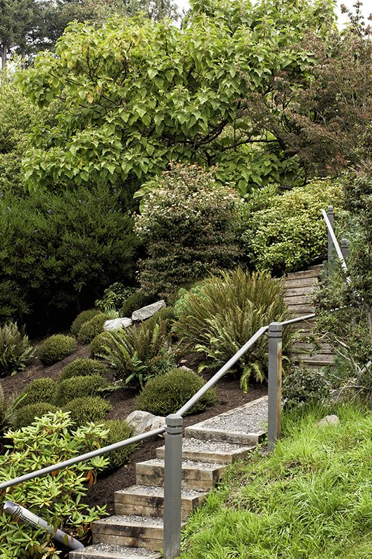 landscaping steps on a steep slope - Google Search