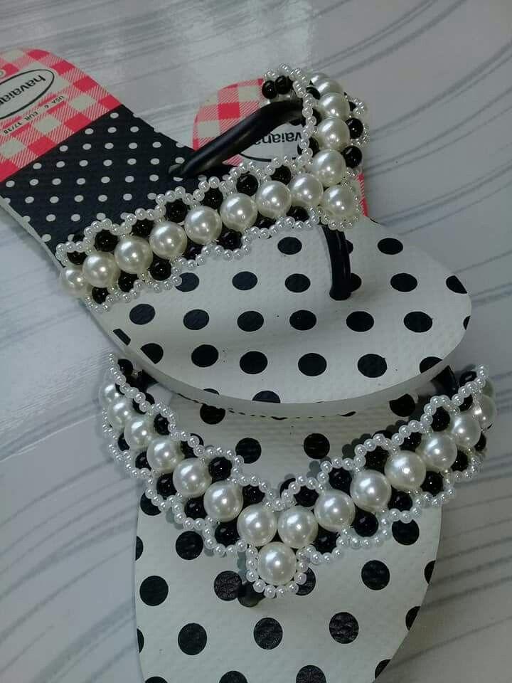 d391be02f Decoracion con perlas | sandalias decoradas