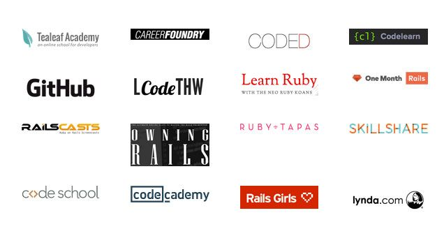 Build Web Apps: Learn Ruby and Ruby on Rails with This Collection of 29 Great Online Courses and Tools