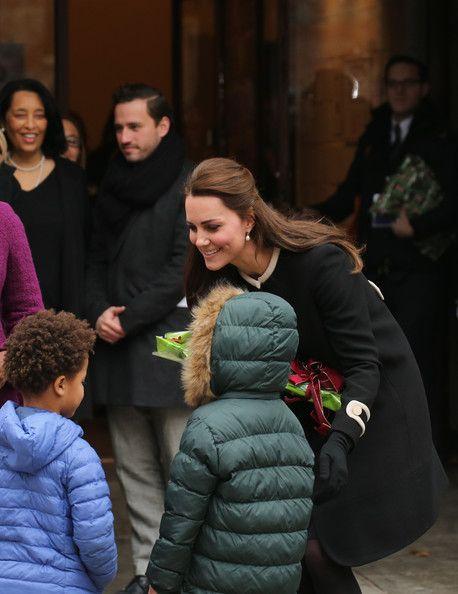 8 Dec 2014:  The Duchess of Cambridge Meets Chirlane McCray