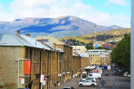 Hobart, Tasmania, Australia.  So much to there and easy trip from there.  Salamanca Market, Mt. Wellington, Taroona.  Time to go back again.