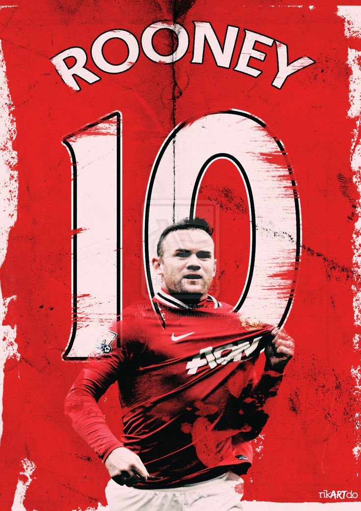 Wayne Rooney #MUFC from http://riikardo.deviantart.com/