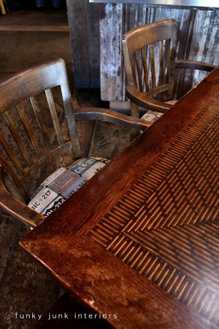 Junk filled pub decorating you won't believe! Mission Springs Brewing Company - Funky Junk Interiors