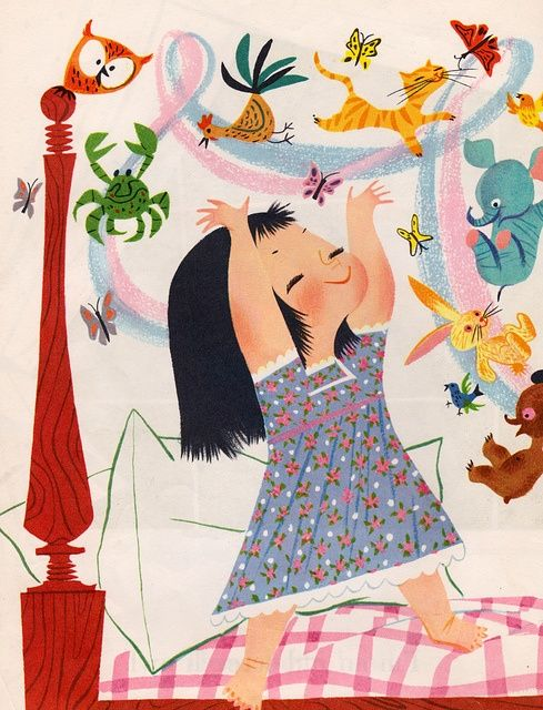 I Can Fly - Illustration by Mary Blair