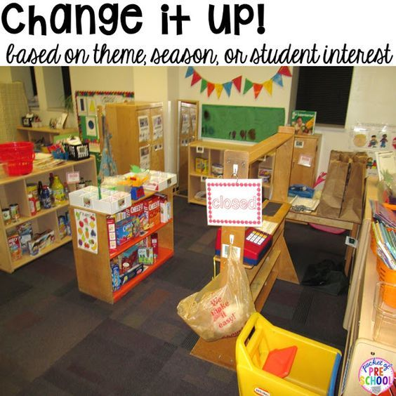 Study Room With Aquarium: How To Set Up The Dramatic Play Center In An Early