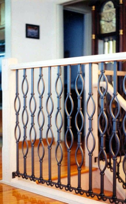 29 Best Images About Iron Railings On Pinterest Wrought Iron Stair Railing Deck Railings And