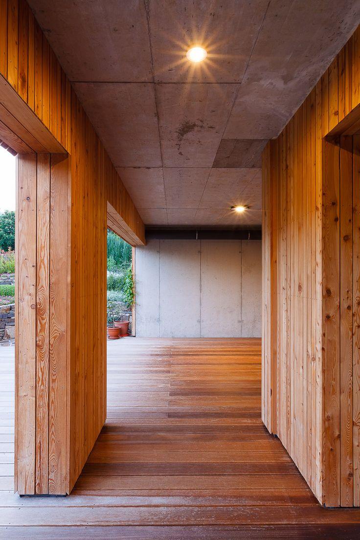 passivhaus | small | family | home | wood | concrete | terrace | kalksandstein | two-storey house | berg | austria | architecture