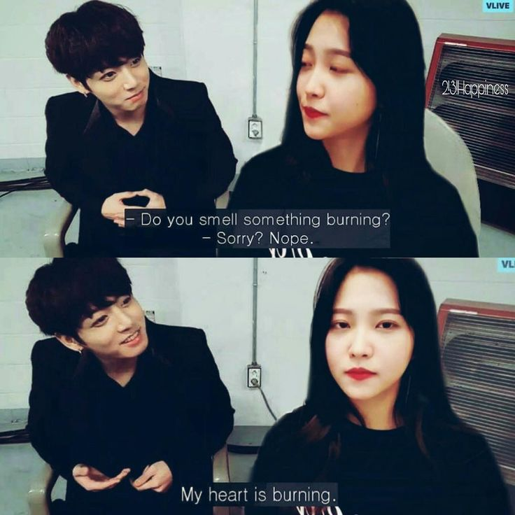 Yeri seem so done with jungkook Imagine Jungkook always tells Yeri jokes because Jin learned him❤️ CR TO OWNER, I DONT KNOW WHO OWN THIS #btsvelvet#jungri#satangelique