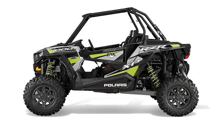 2015 Polaris RZR XP 1000 EPS Fox Shox Edition Turbo Silver : Features