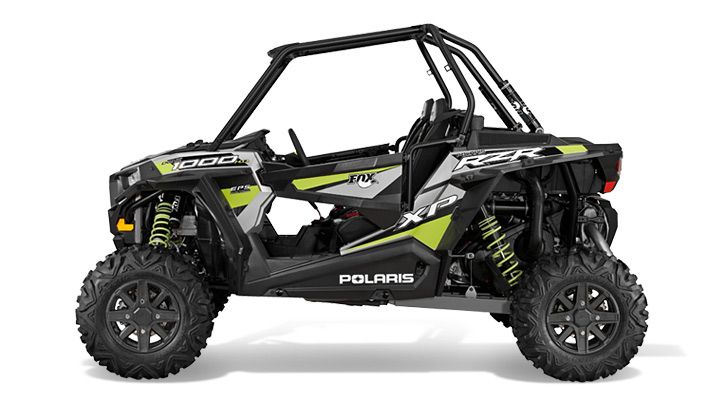 2015 Polaris RZR  XP 1000 EPS Fox Shox Edition Turbo Silver : Features