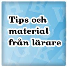 Tips och material från lärare, LPP osv - ABC-klubben Natur&Kultur