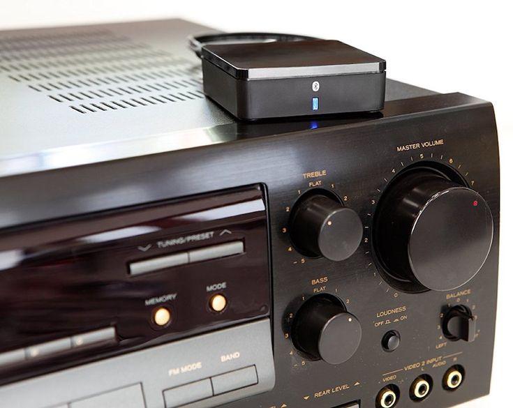 Receptor de audio con Bluetooth