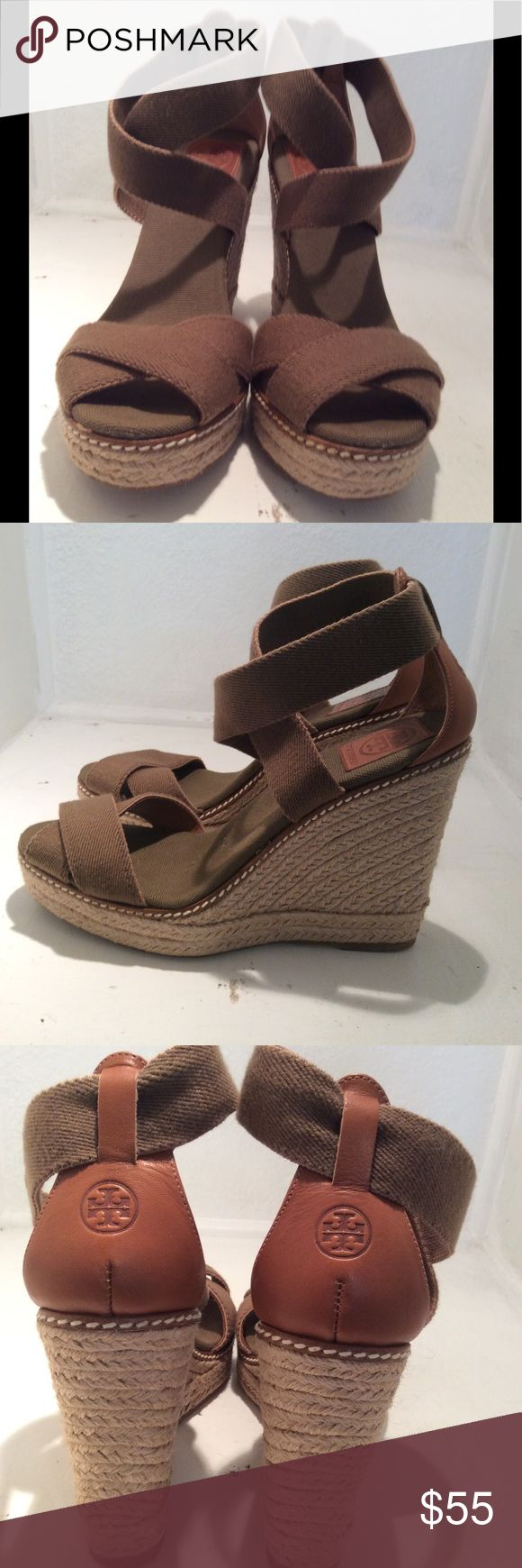 Tory Burch wedge. Size 9