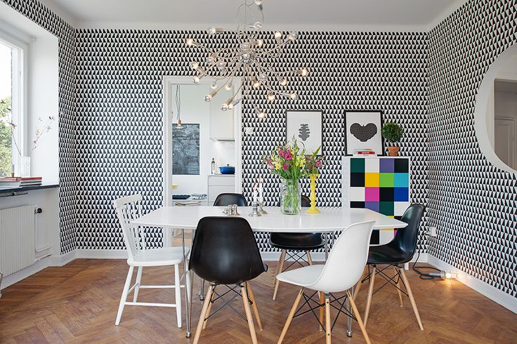 Wallpaper by Scandinavian Designers - Borås Tapeter.