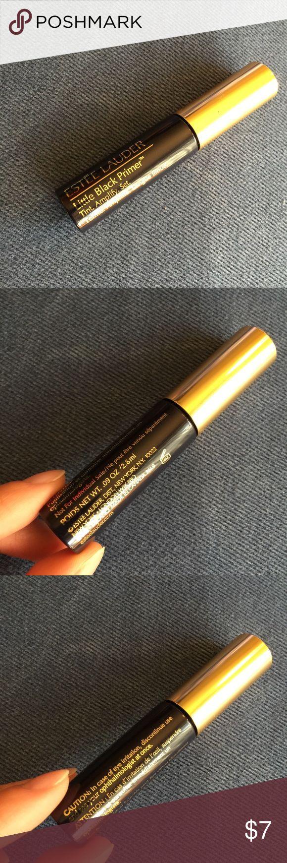 Estée Lauder black mascara sample Estée Lauder little black primer. Size: 2.8ml. Brand new, never used. Estee Lauder Makeup Mascara