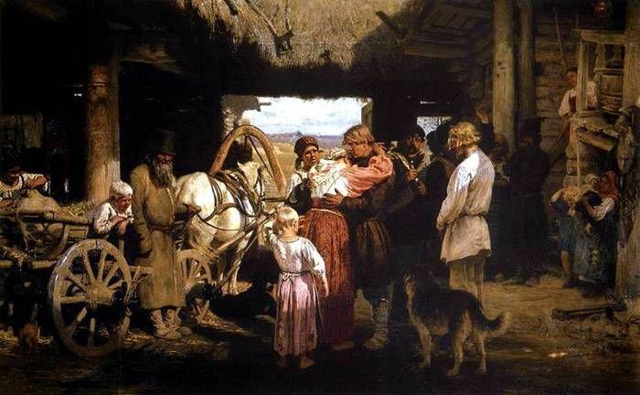 Νεοσύλλεκτος πήρε άδεια.  (1876)