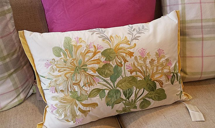 Spring bloom cushion by Laura Ashley
