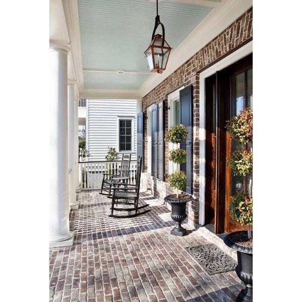 Front Porch Ceiling Ideas: 68 Best Haint Blue Porch Ceilings Images On Pinterest