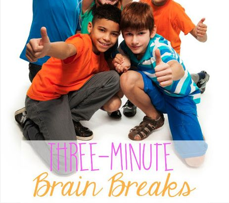 Brain breaks are an increasingly important aspect of daily classroom life. Here are 20 three-minute brain breaks to help you refocus your class!