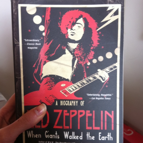 : Worth Reading, Led Zeppelin, Book Worth, Ledzeppelin, Giant Walks, Earth,  Dust Covers, Book Jackets, Biographies