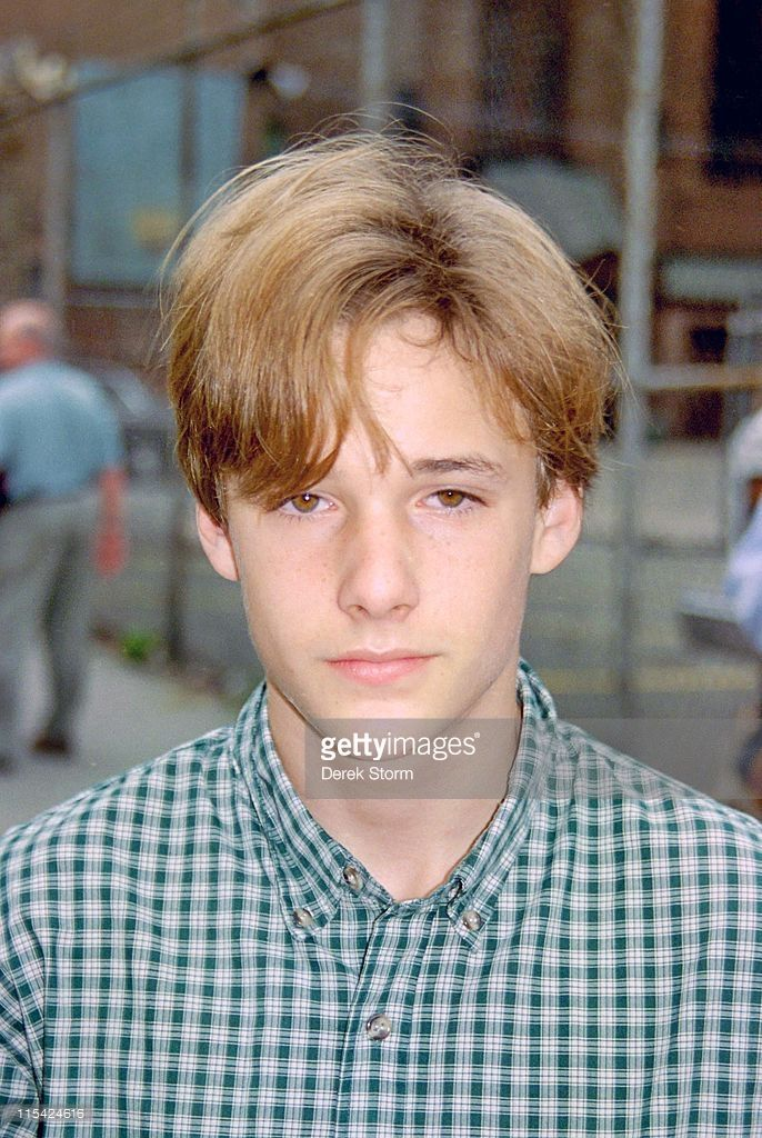 Brad Renfro during Brad Renfro on the Set of 'Sleepers' - April 11, 1995 at Brad Renfro on the set of Sleepers in Brooklyn, New York, United States.
