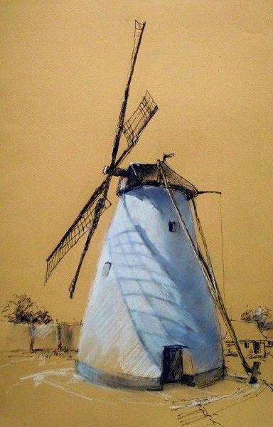 Tarcsay Béla пастель - Художественные материалы
