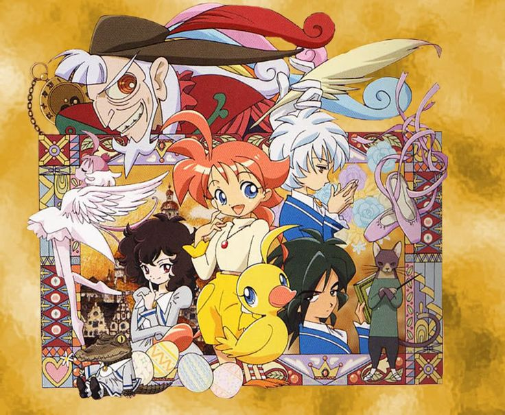 """#Princess Tutu. A duck is transformed into a girl Ahiru which means duck. She has the power to transform into """"Princess Tutu"""" to collect the lost shards of the heart of the prince to restore the prince's heart."""