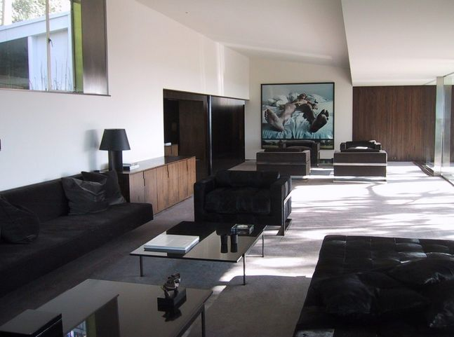 Tom Ford - Los Angeles - Richard Neutra-designed Brown-Sidney home - interior