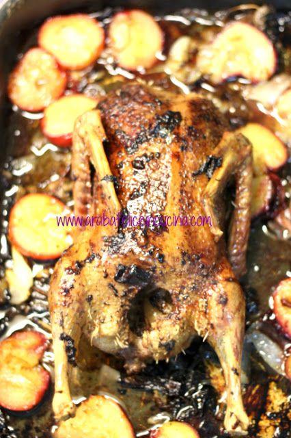 Arabafelice in cucina!: Anatra arrosto con le susine