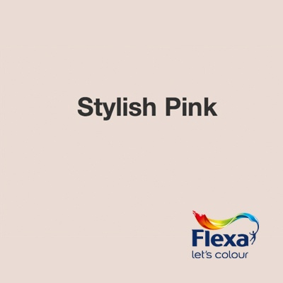 Collectie: Creations Kleur: Stylish Pink URL: http://www.flexa.nl/nl/kleur/stylish-pink/
