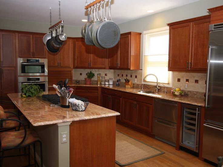 Kitchen Cabinet Refacing Before and After Photos by Kitchen Magic