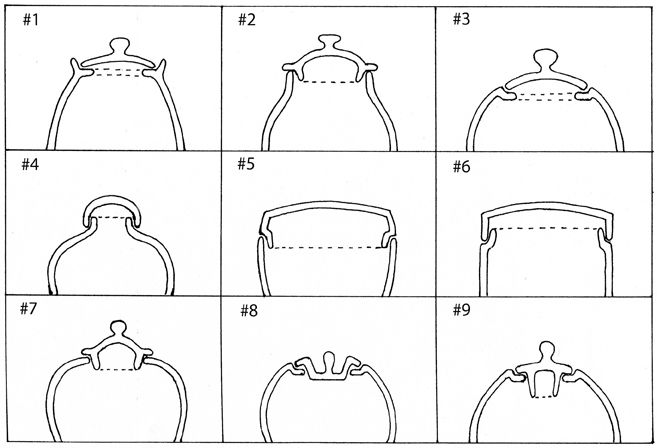 Excellent page of lid designs with some explanation as to their creation method. By Vince Pitelka.