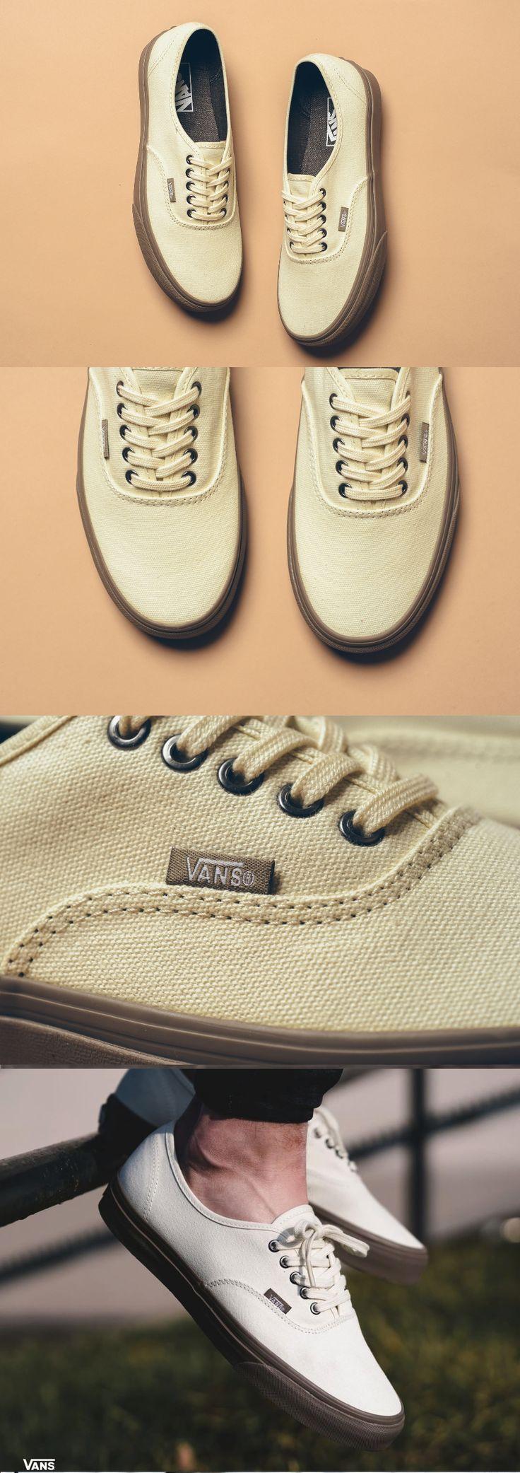#Vans #Authentic #Cream & #Walnut