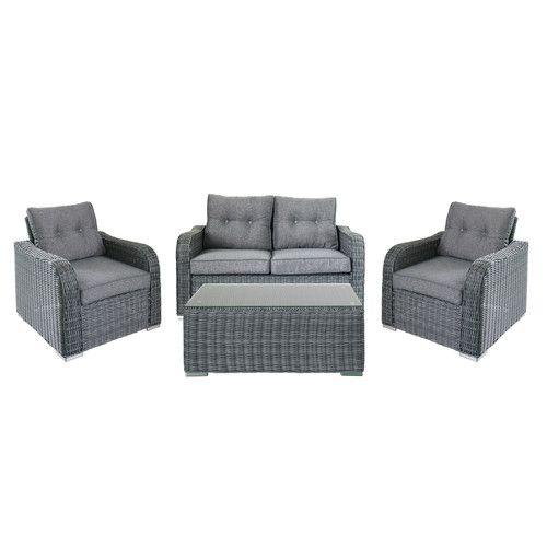 44 best outdoor furniture images on Pinterest Backyard furniture - rattan lounge gartenmobel
