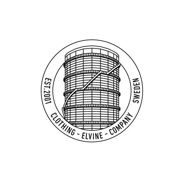 Logo for Swedish clothing brand Elvine designed by Lundgren+Lindqvist.