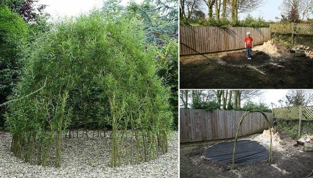 How To Build A Living Willow Playhouse