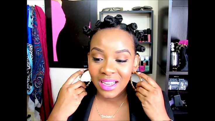 THE PERFECT BANTU KNOT OUT - very informative tutorial and very descriptive step-by-step to doing bantu knots
