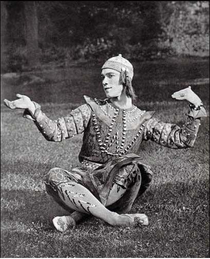 Eugène Druet: picture of Vaslav Nijinsky
