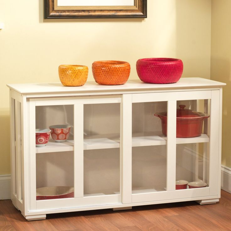 Target Marketing Systems Pacific Stackable Cabinet with Glass Door | from hayneedle.com - $109.35