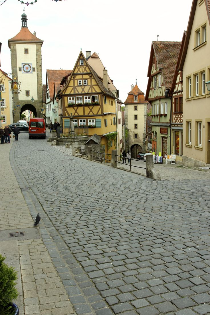 The iconic image of Rothenburg - May 17 2014